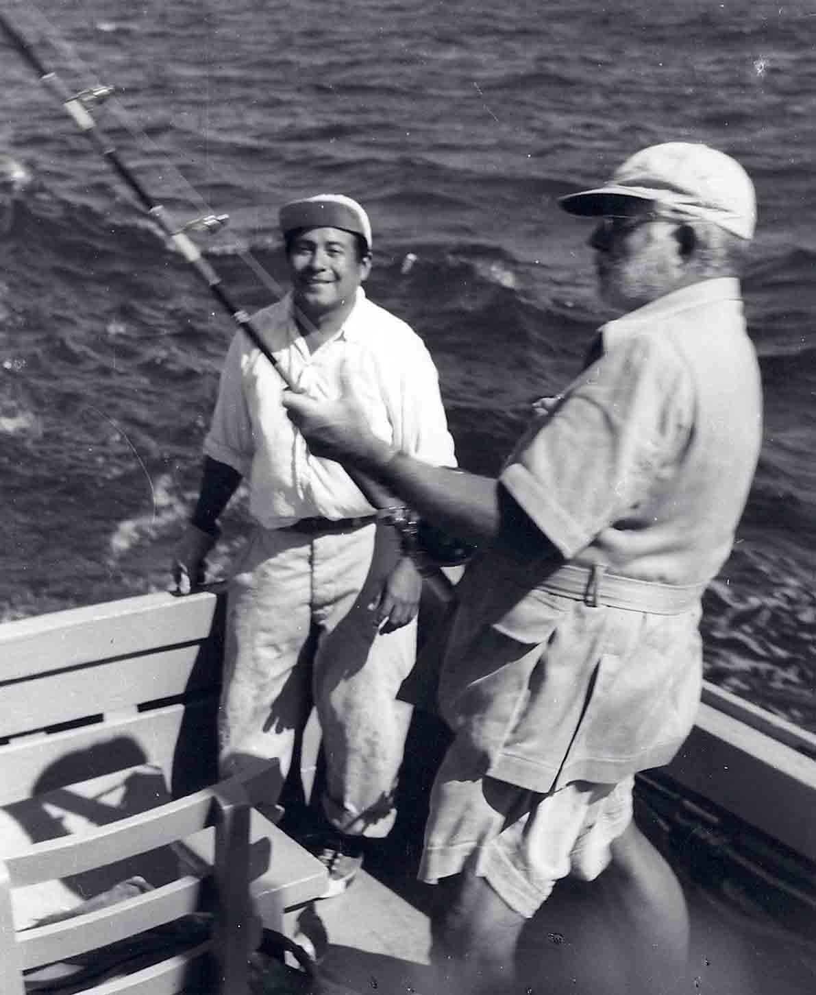 Ernest Hemingway, 1956; Photo by Modeste von Unruh