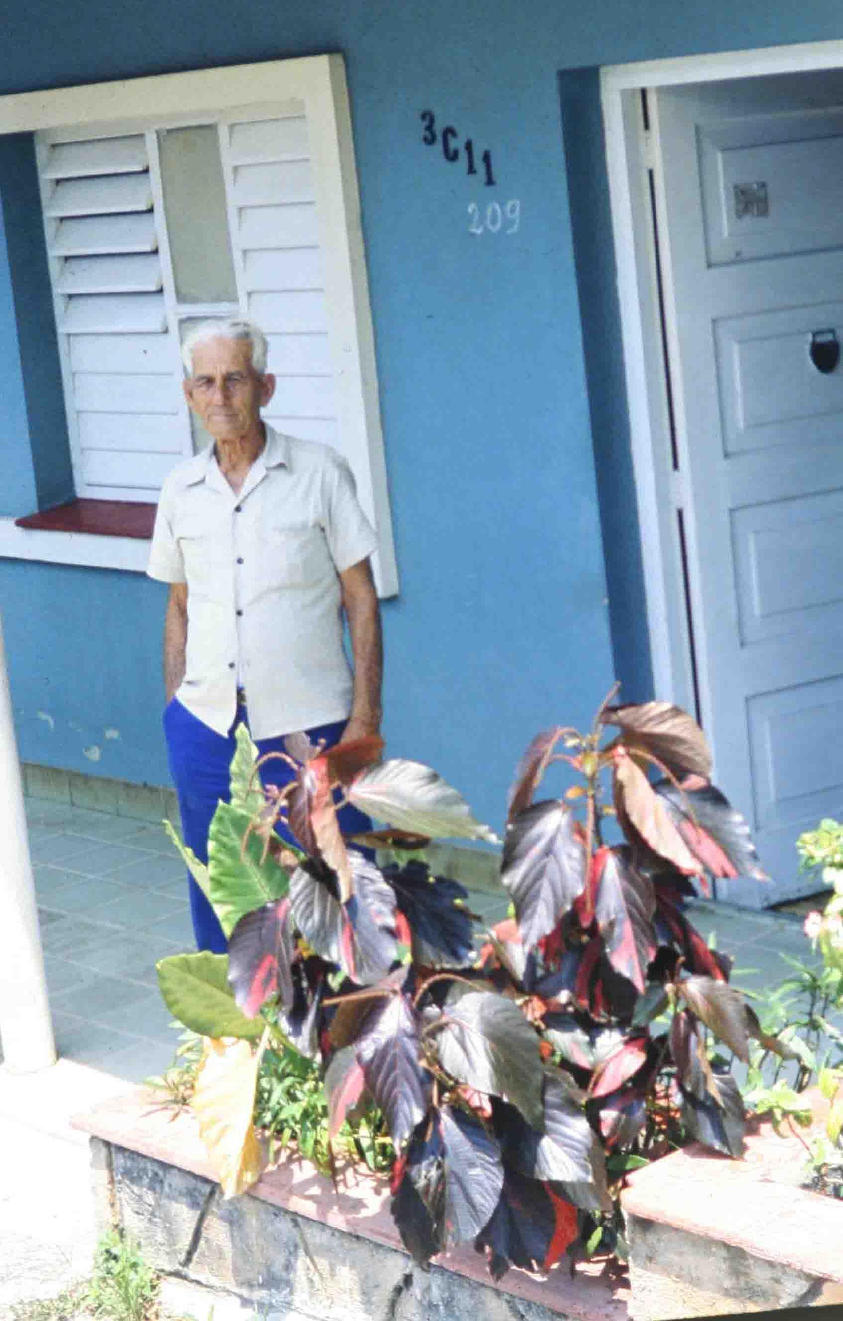 Cojímar/Kuba, im April 1983; Photo by W. Stock