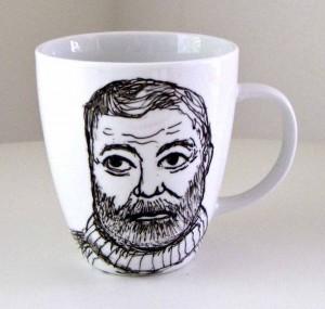 HemingwayKaffeebecher