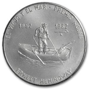 Coin Ernest Hemingway Cuba