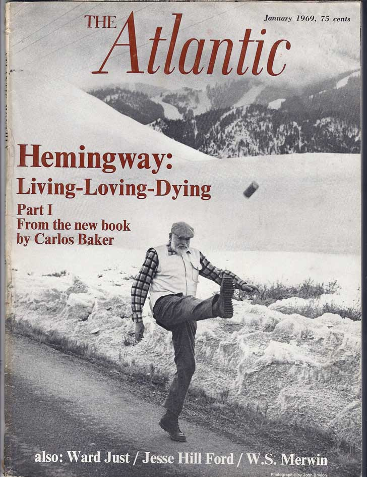 Atlantic Hemingway kicks a can of beer
