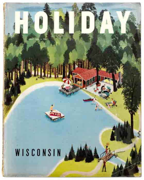 Holiday Magazine, July 1949