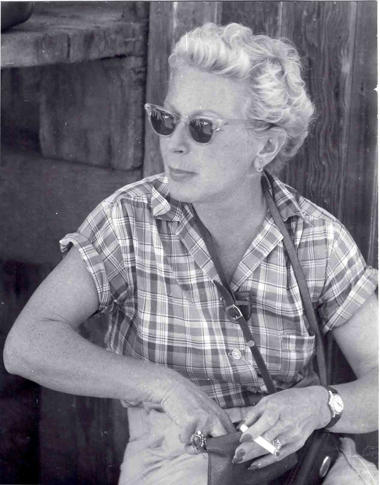 Mary Welsh, Mai 1956; Photo by Modeste von Unruh