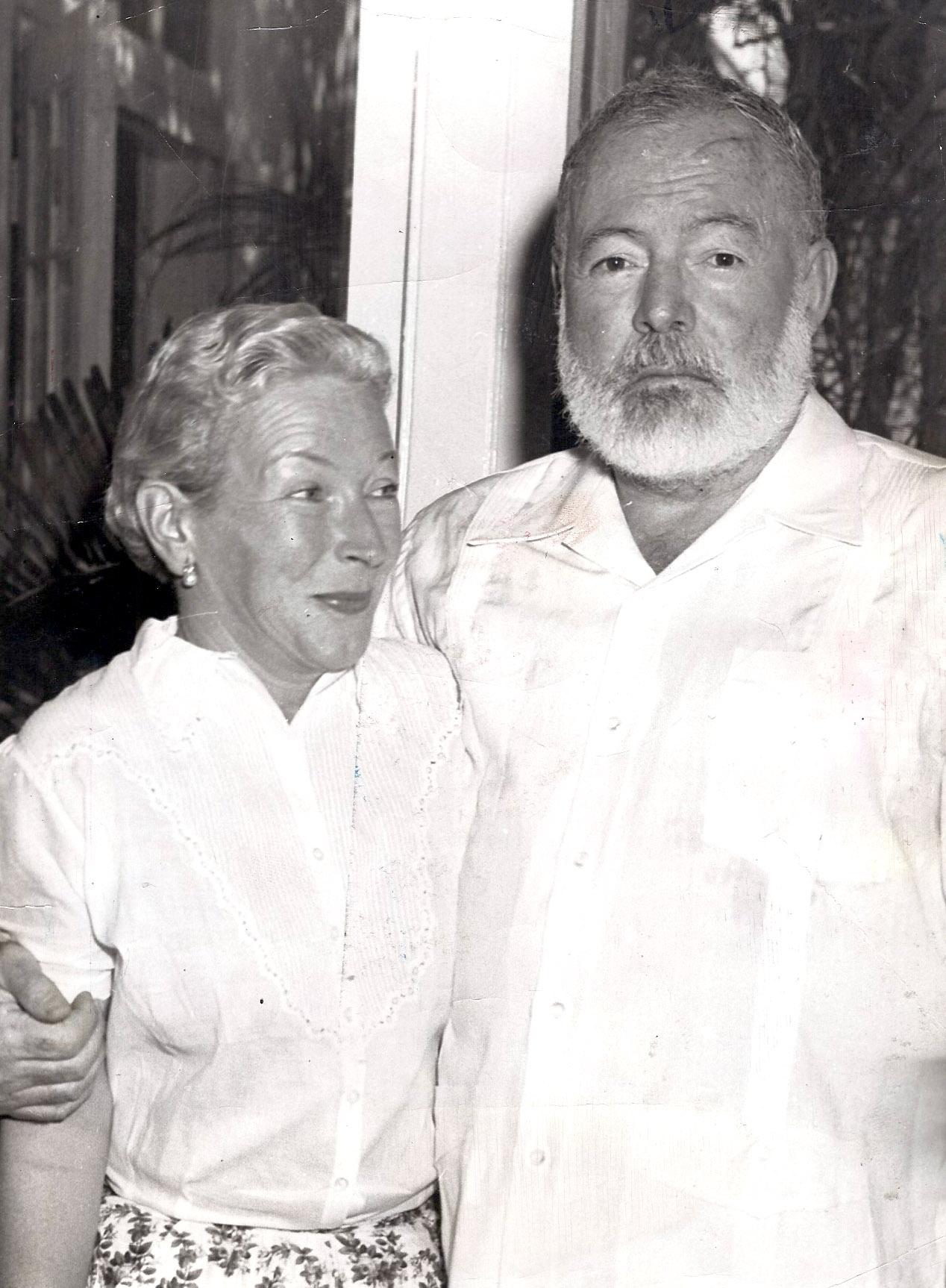 Mary Welsh und Ernest Hemingway