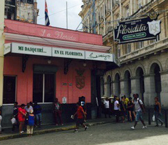 El floridita, Havanna/Kuba, im August 2015; Photo by J. Stock
